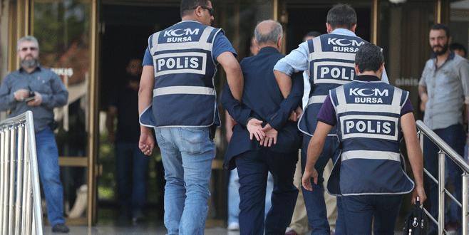 Gözaltına alınan eski Bursa Valisi Bursa'ya getirildi