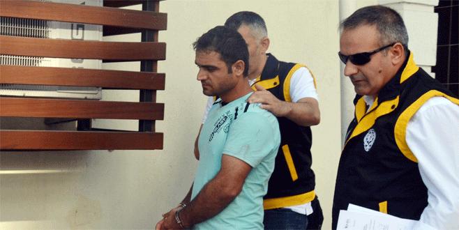 Bursa'da kıskançlık cinayetinin zanlısı adliyeye sevk edildi