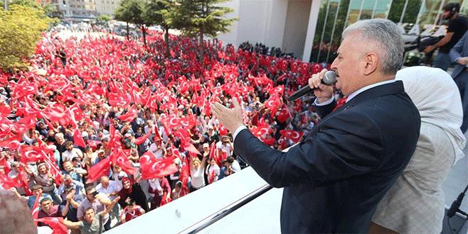 Başbakan Binali Yıldırım: Akıncı Üssü kapatılacak