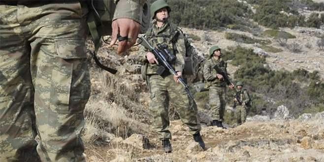 Jandarma karakoluna saldırı: 1 uzman çavuş yaralandı