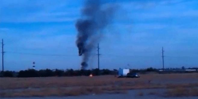 Sıcak hava balonu düştü: 16 ölü