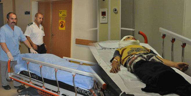 Bursa'da feci kaza dede ile torununu birbirinden ayırdı