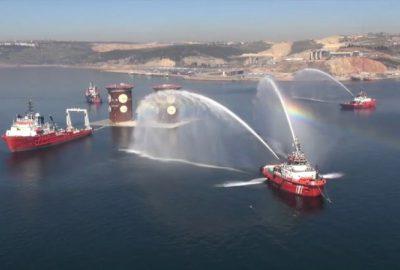 Osmangazi Köprüsü'nün 3 yıllık öyküsünün nefes kesen görüntüleri