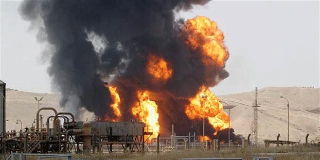 IŞİD'ten petrol kuyusuna saldırı