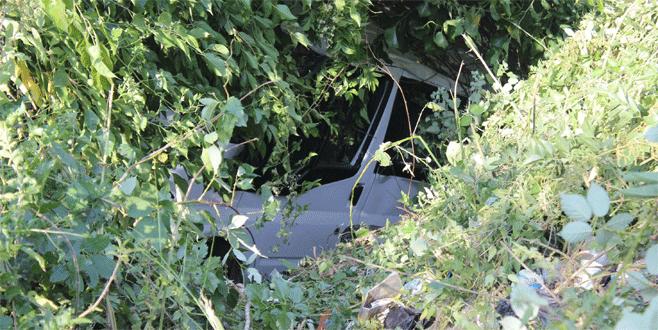 Bursa'da feci kazada ölümden döndü
