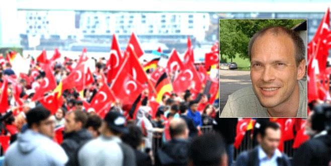 Alman gazeteciden Erdoğan'a destek