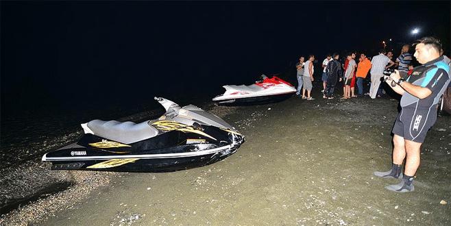 Jet skiler çarpıştı: 1 ölü, 1 yaralı