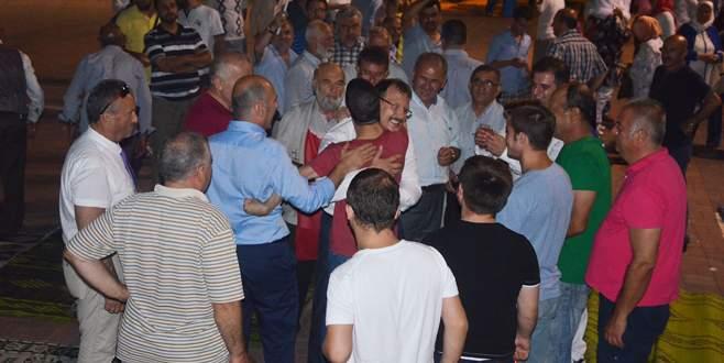 Mudanya'da demokrasi nöbetleri devam ediyor