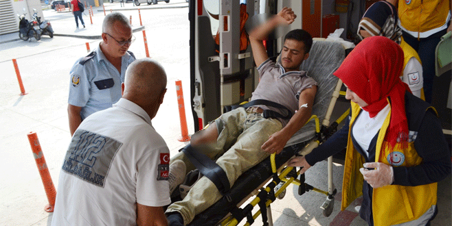 Bursa'da kazanın ardından çıkan kavgada bıçaklandı