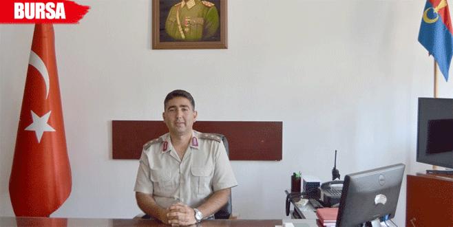 Yüzbaşı Barış Bozkurt göreve başladı