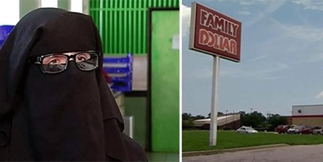Peçesini açmayan Müslüman kadın dükkandan kovuldu