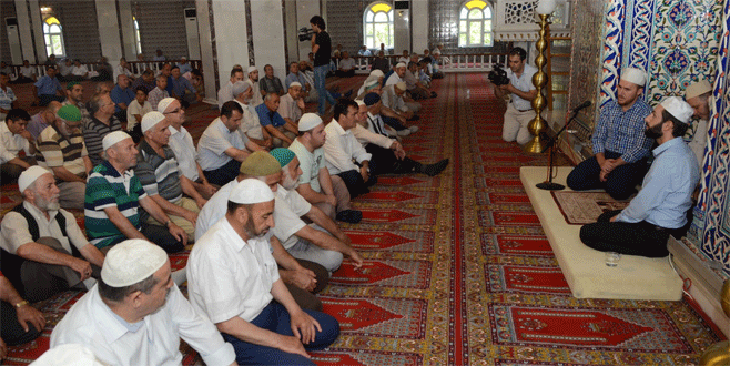 Bursa'da demokrasi şehitleri için mevlit
