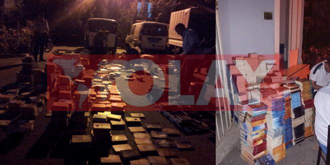 Bursa'da Fethullah Gülen'in kitaplarını yakarken yakalandılar