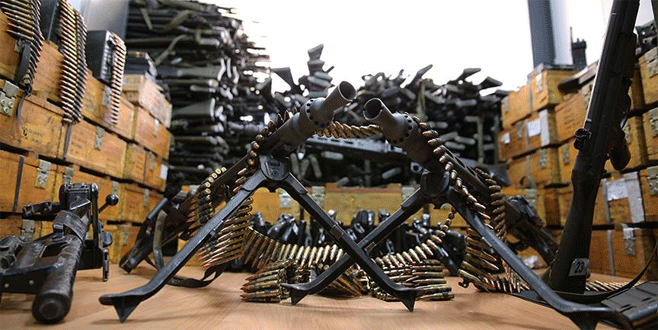 İşte darbe girişiminde kullanılan silahlar