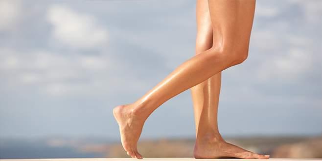 Bacaklar diyetle incelir mi?