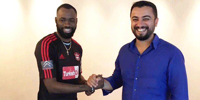 Gaziantepspor'a Çin'den golcü geldi