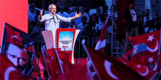 Kemal Kılıçdaroğlu İzmir'de halka seslendi