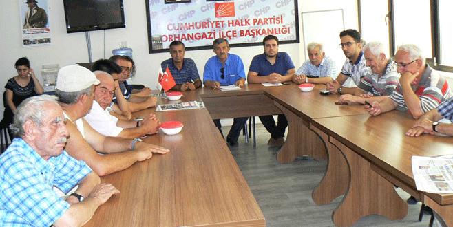 Orhangazi CHP'de geçici yönetim