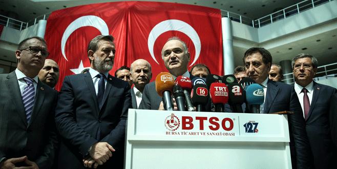 Bakan Özlü: 'Bursa'nın talepleri üretim reform paketinde yer alacak'