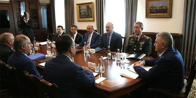Başbakanlıkta Güvenlik Toplantısı başladı