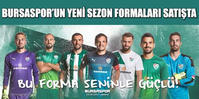 Bursaspor'un yeni sezon formaları satışta!