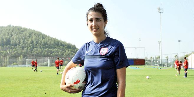 Altınordu'ya kadın antrenör