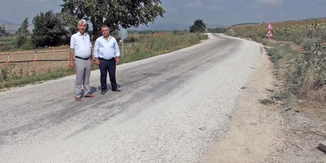 Yenişehir'de asfalt atağı