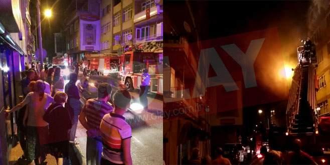 Bursa'da pişmanlık ev yaktırdı!