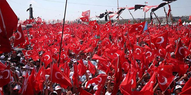 Milyonlar tarihi miting için Yenikapı'da