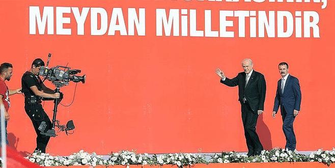 'Türkiye'mizin şahlanışını gururla izliyorum'