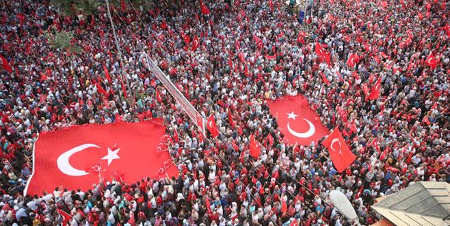 Bursa 'Yenikapı' ile tek yürek