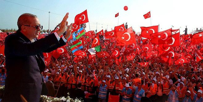'15 Temmuz bu ülkenin yıkılmayacağını göstermiştir'