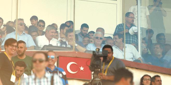 Başkan Ali Ay'a yakın ilgi