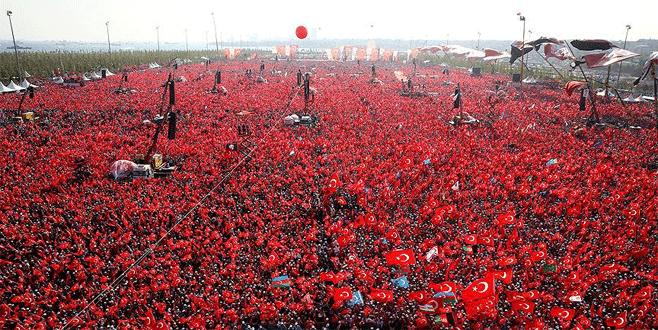 5 milyon yürek Yenikapı'da buluştu