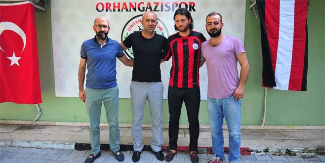 Orhangazispor'a tecrübeli golcü
