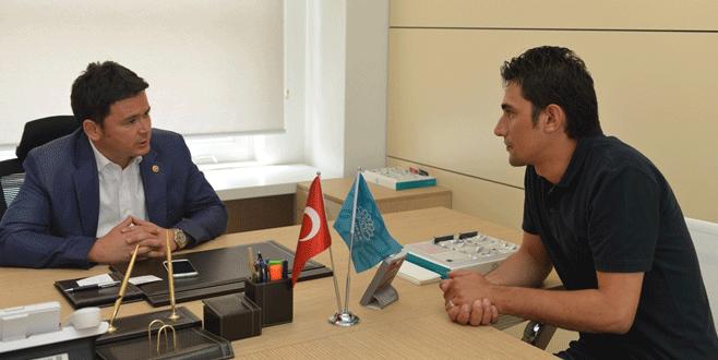 Erkan Aydın vatandaşı dinledi
