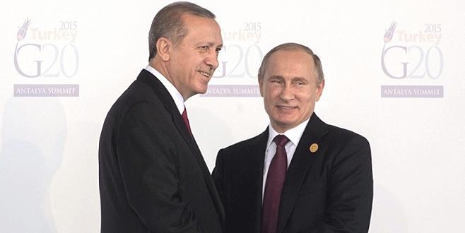 Erdoğan-Putin görüşmesinin saati belli oldu