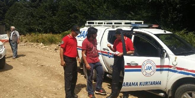 Uludağ'da kaybolan iki kişi 4,5 saat sonra kurtarıldı