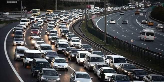 İşte Türkiye'deki trafiğe kayıtlı araç sayısı