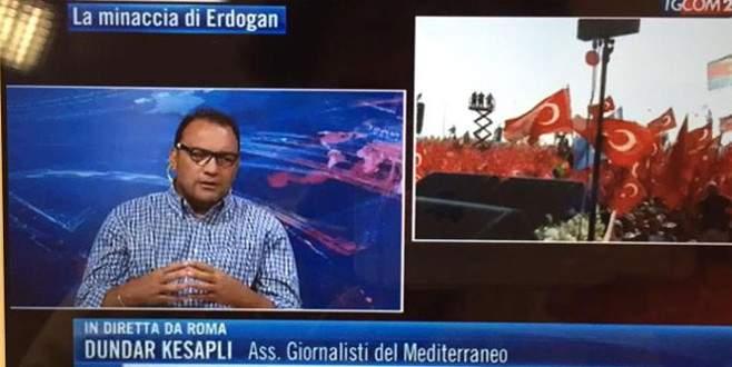 İtalyan medyasında Türkiye'nin elçisi gibi çalışıyor