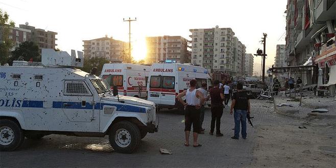 Mardin ve Diyarbakır'da alçak saldırı