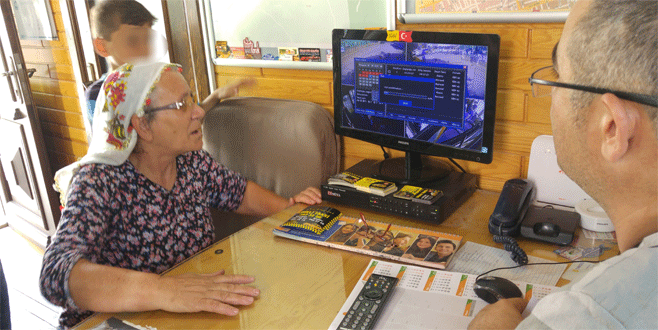 Bursa'da yaşlı kadın sahte savcıyı kamerada görünce fenalık geçirdi
