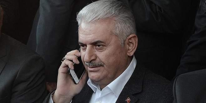 Başbakan Yıldırım, Meşal ile telefonda görüştü