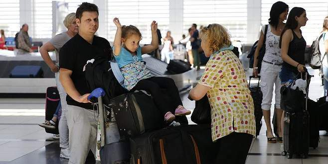 500 bini aşkın Rus turist bekleniyor