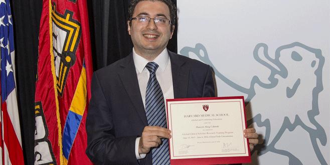 Bursalı doktorun Harvard başarısı