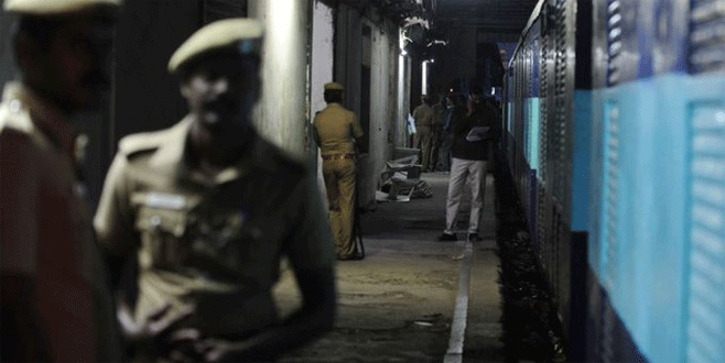 Hindistan'da film gibi tren soygunu