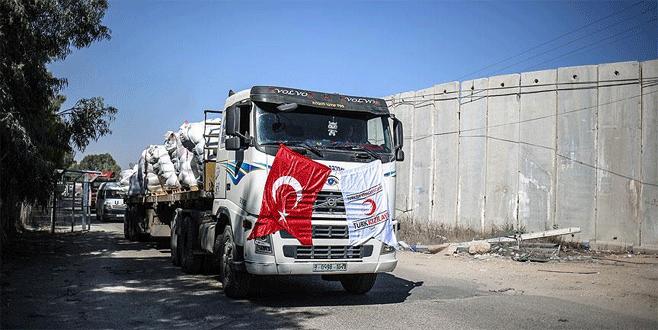'Gazze'ye yeni yardım sevkiyatı eylülde'
