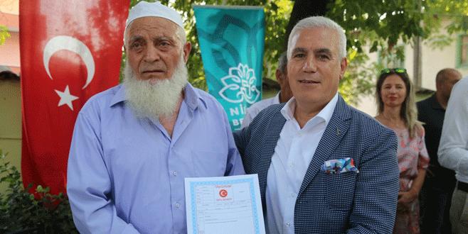 Yaylacık Mahallesi'nde 600 hak sahibine tapu