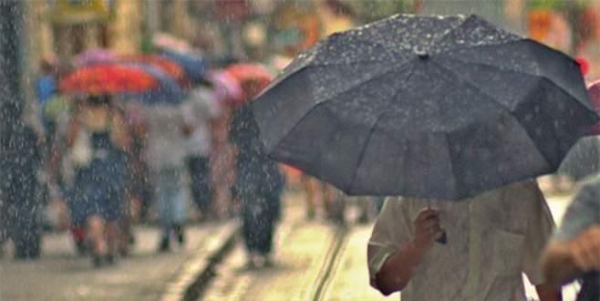 Meteoroloji uyardı: Bursalılar dikkat!