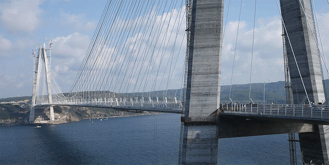 Dünyanın en geniş köprüsünün geçiş ücreti belli oldu